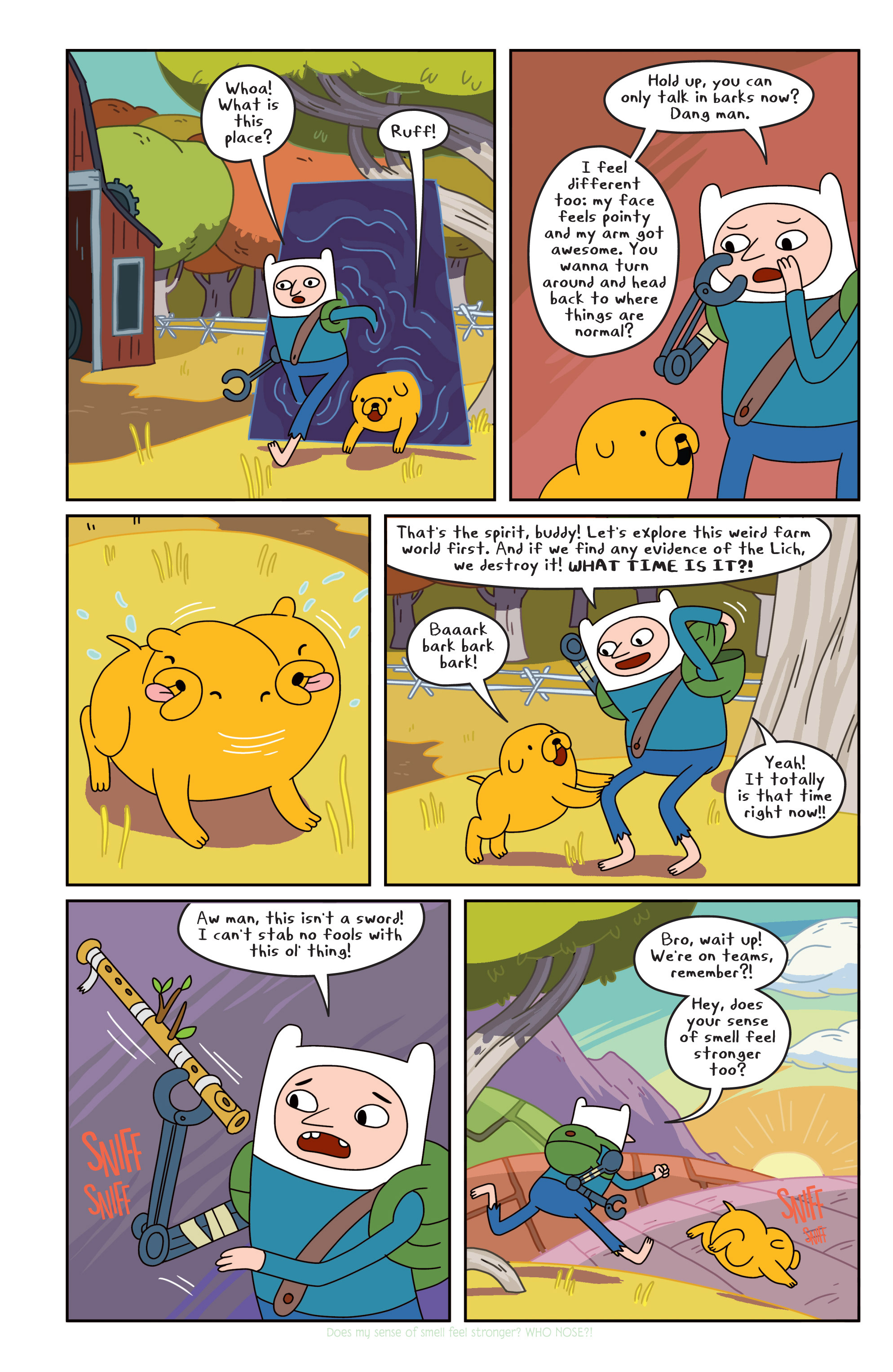 Read online Adventure Time comic -  Issue #18 - 16