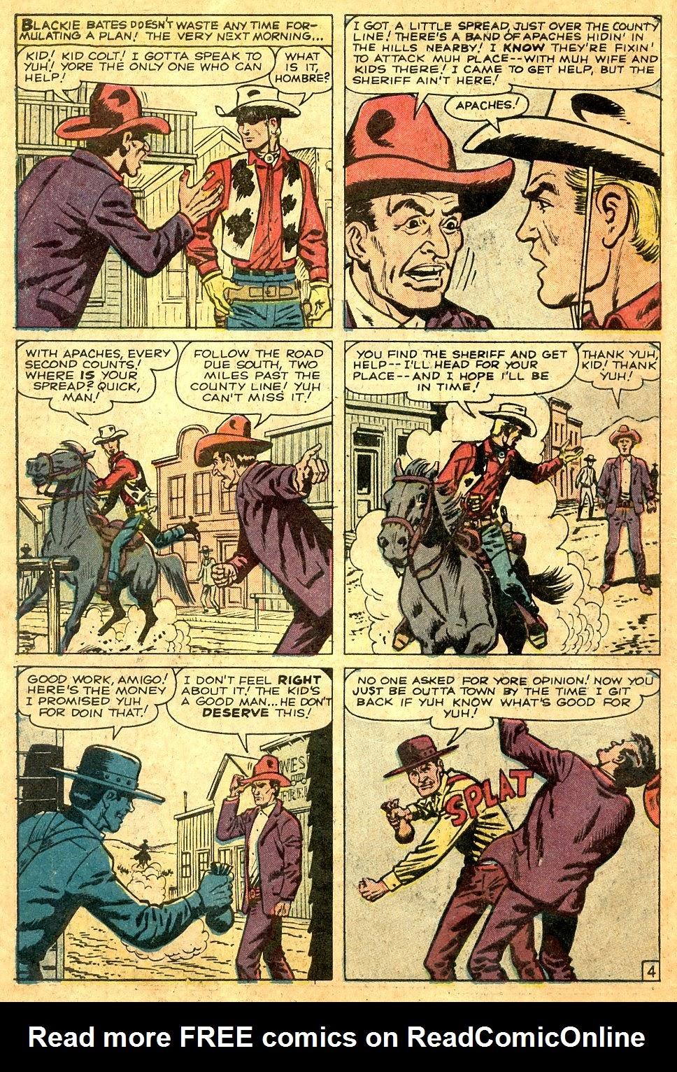 Gunsmoke Western issue 63 - Page 6