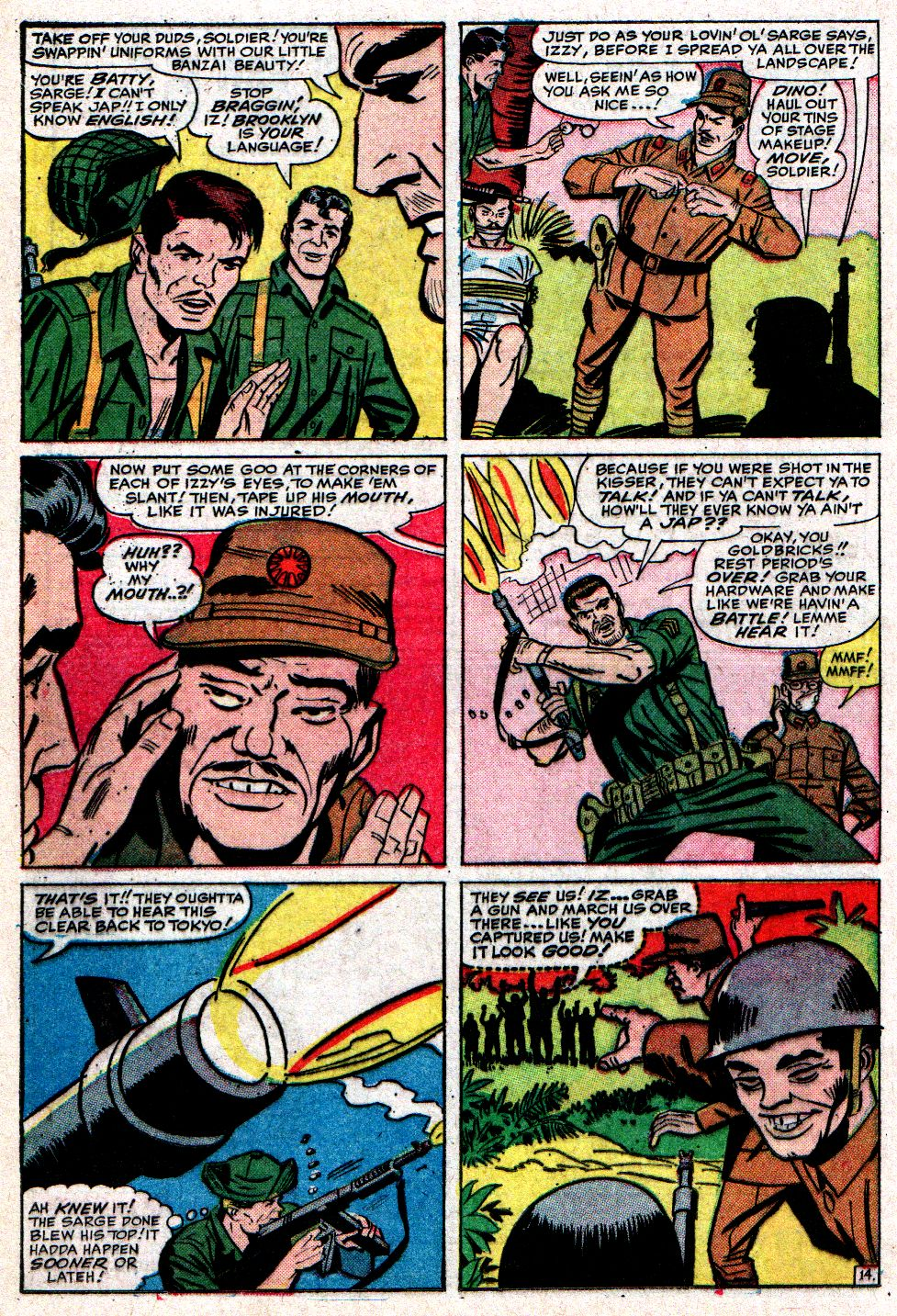 Read online Sgt. Fury comic -  Issue #10 - 20