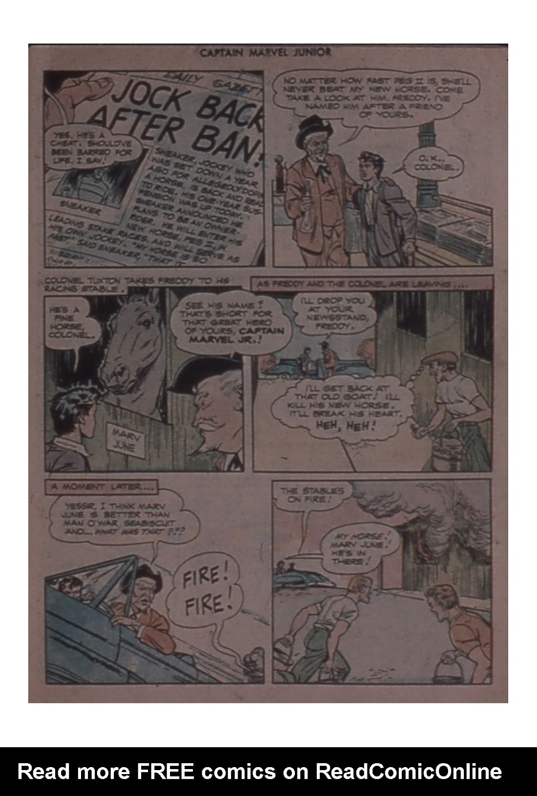 Captain Marvel, Jr. issue 58 - Page 7
