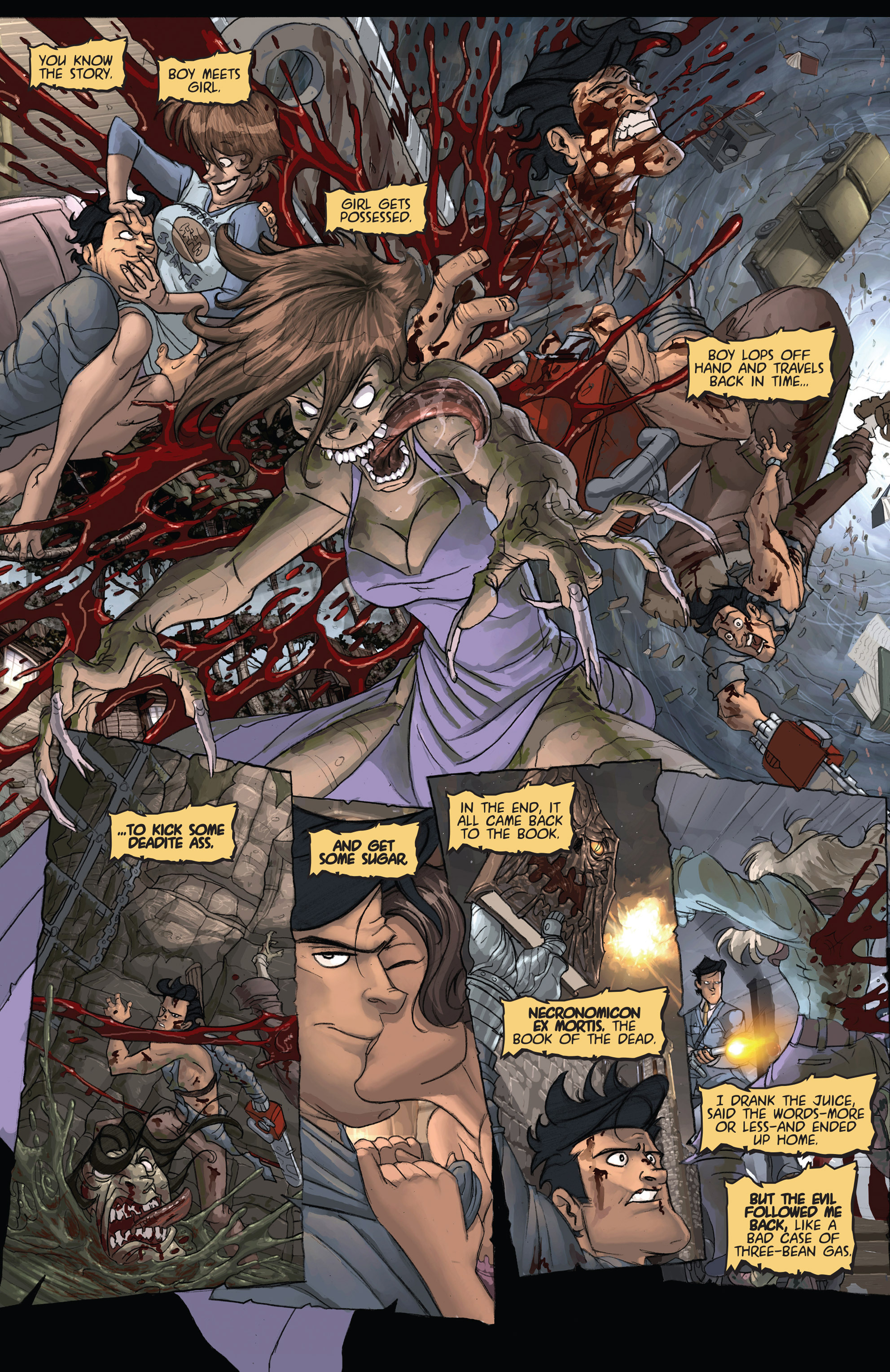 Read online Army of Darkness: Shop Till You Drop Dead comic -  Issue #Army of Darkness: Shop Till You Drop Dead TPB - 12