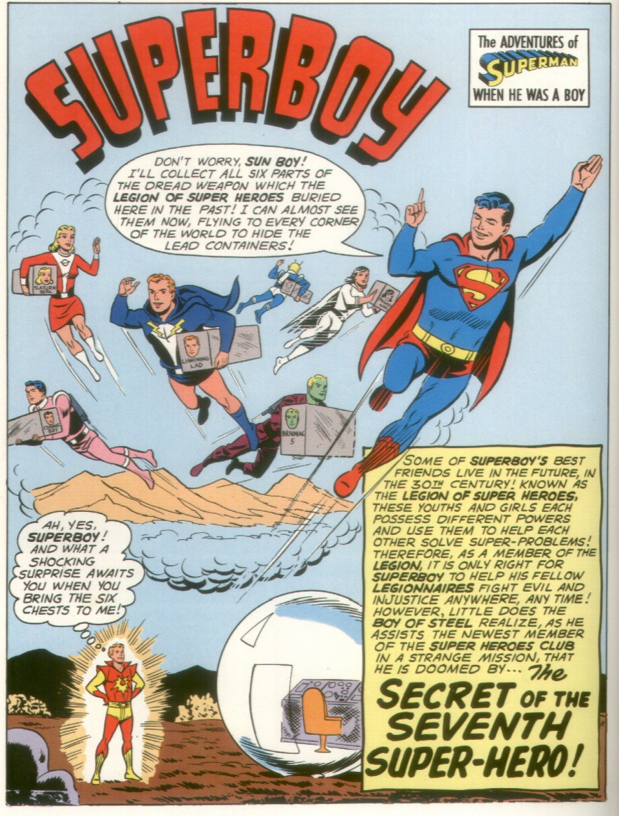 Read online Adventure Comics (1938) comic -  Issue #290 - 2
