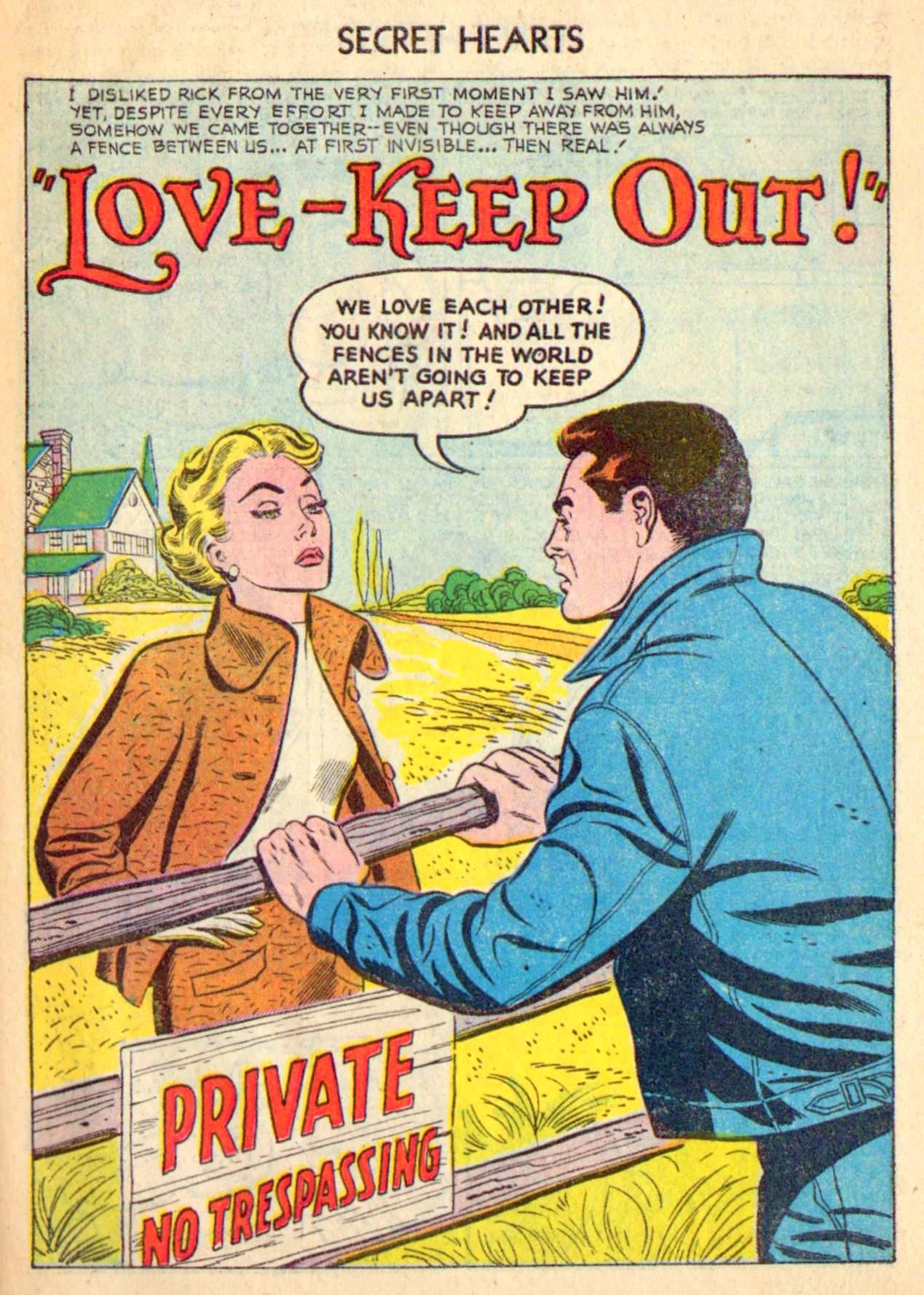 Read online Secret Hearts comic -  Issue #31 - 27