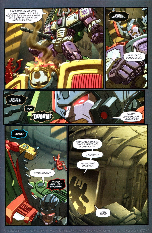 Read online Transformers Armada comic -  Issue #15 - 22