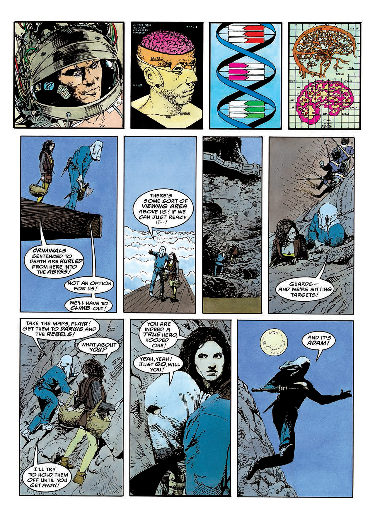 Read online Mazeworld comic -  Issue # TPB - 88