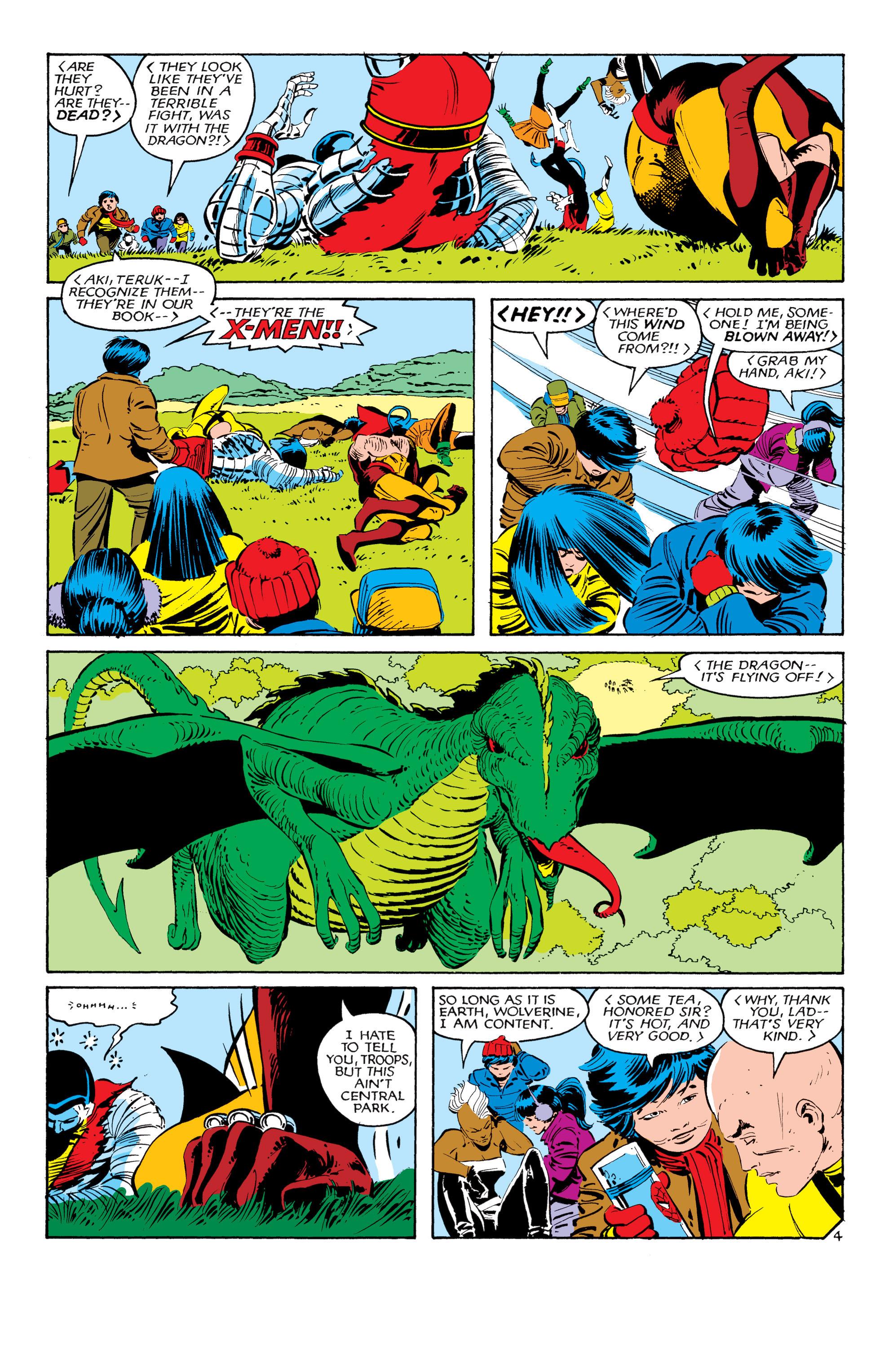 Read online Uncanny X-Men (1963) comic -  Issue #181 - 4