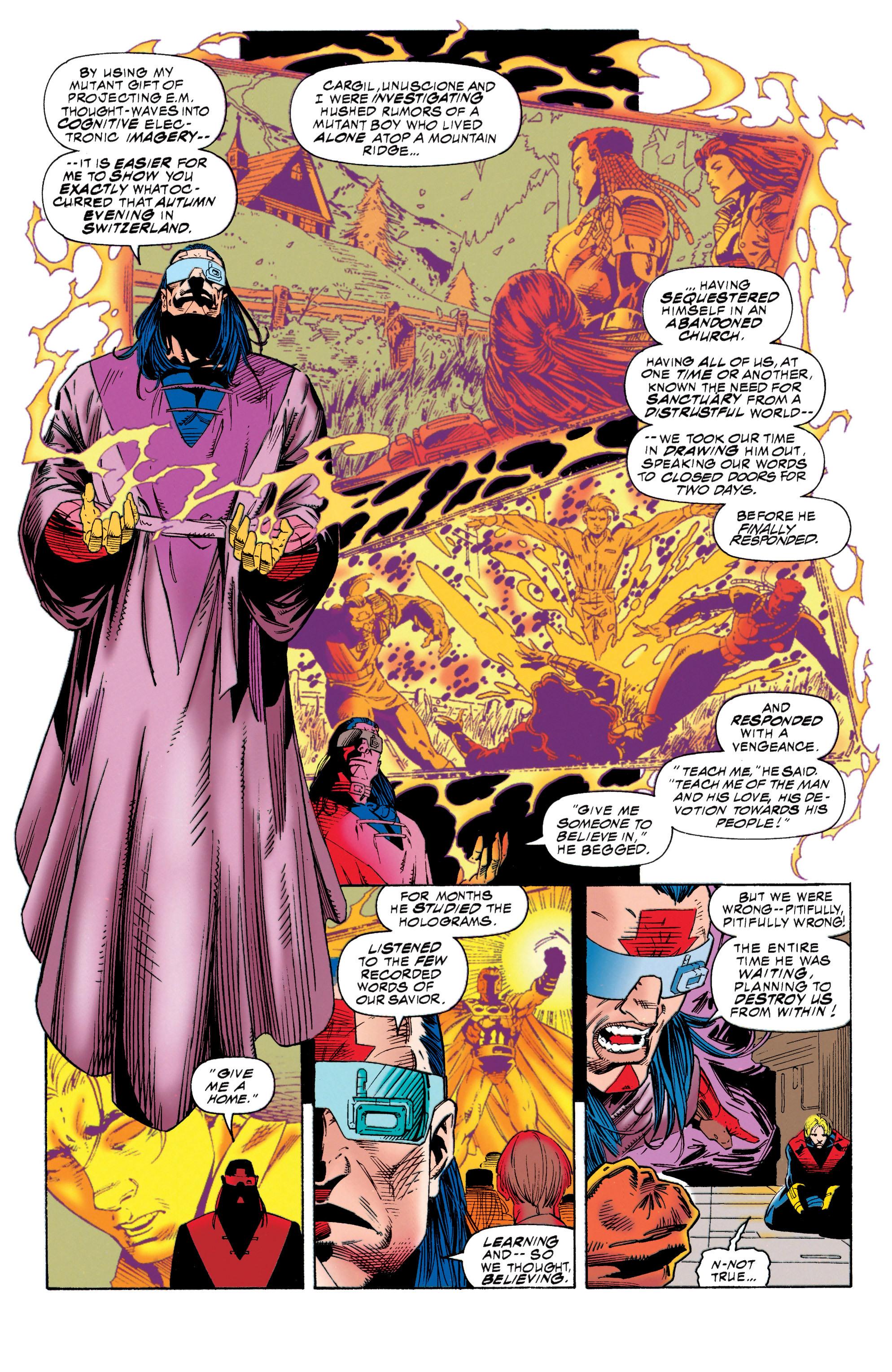 Read online Uncanny X-Men (1963) comic -  Issue #315 - 13