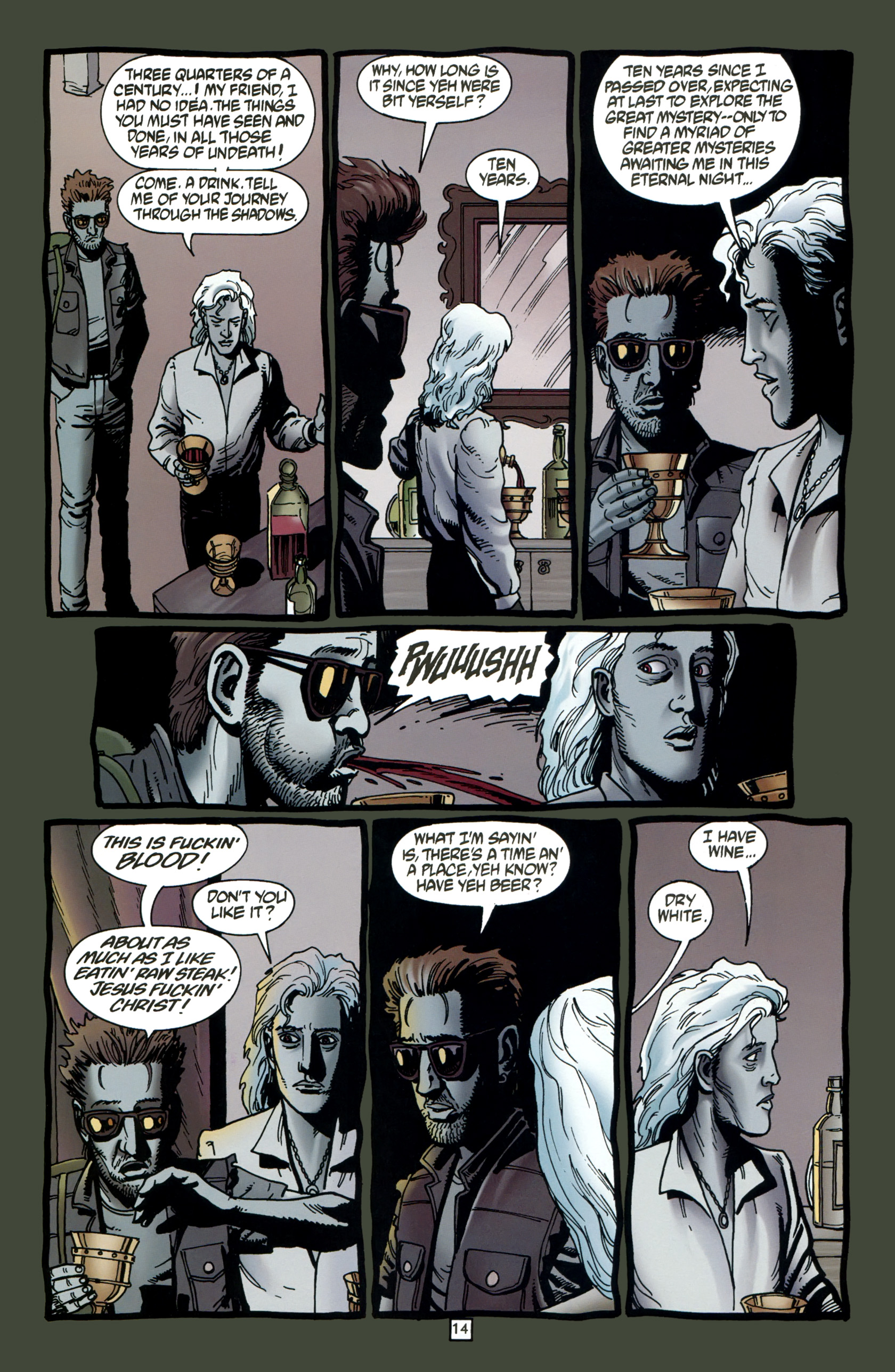 Read online Preacher Special: Cassidy : Blood and Whiskey comic -  Issue # Full - 16