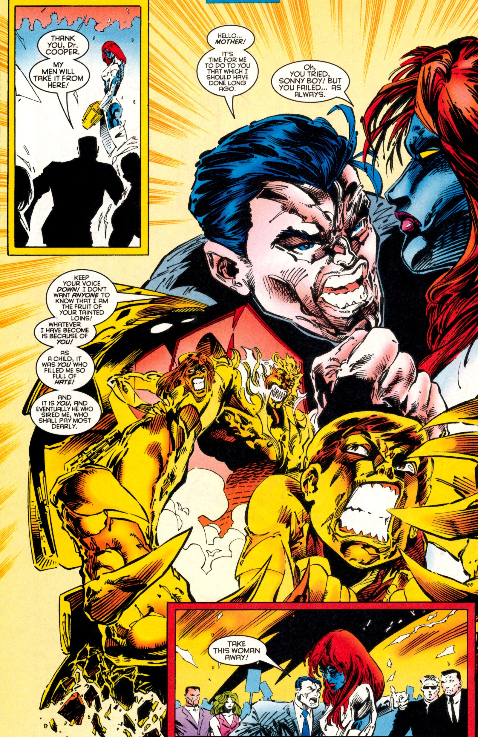 Read online X-Factor (1986) comic -  Issue #130 - 22