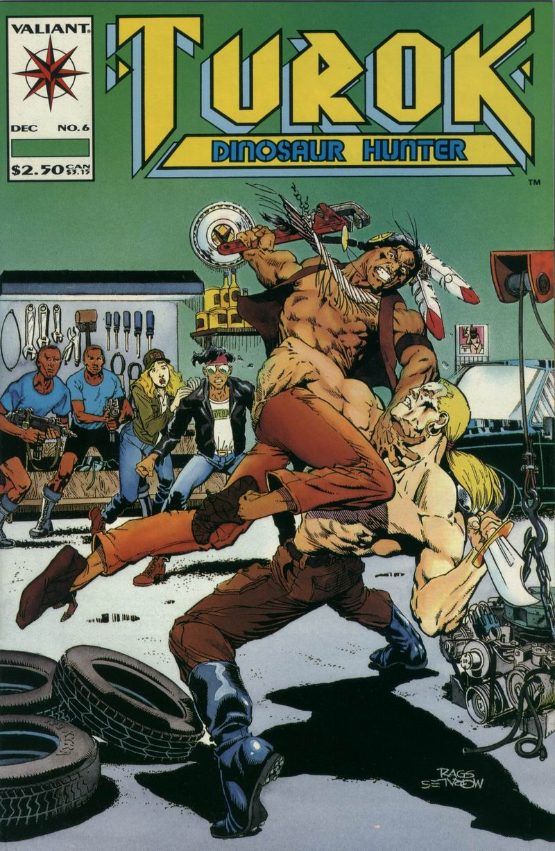 Read online Turok, Dinosaur Hunter (1993) comic -  Issue #6 - 1