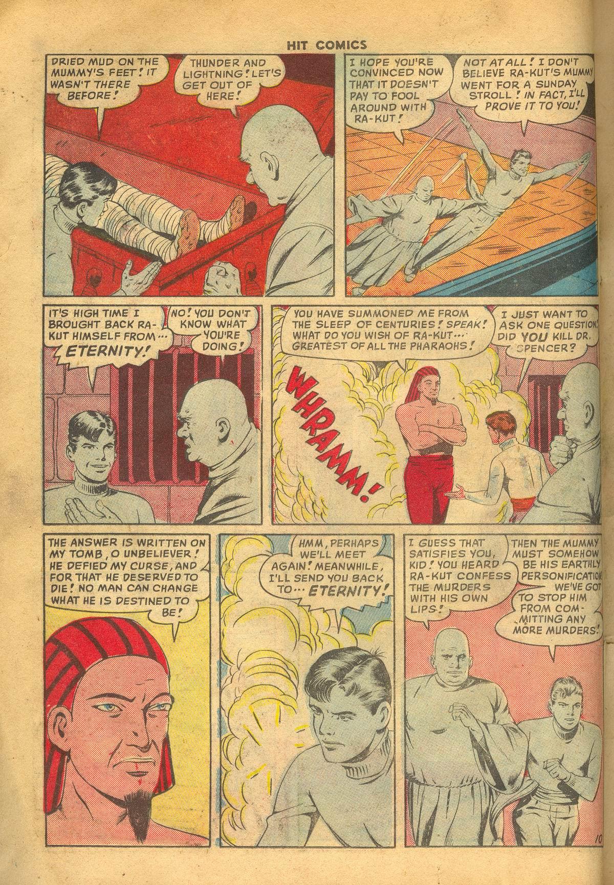 Read online Hit Comics comic -  Issue #60 - 12