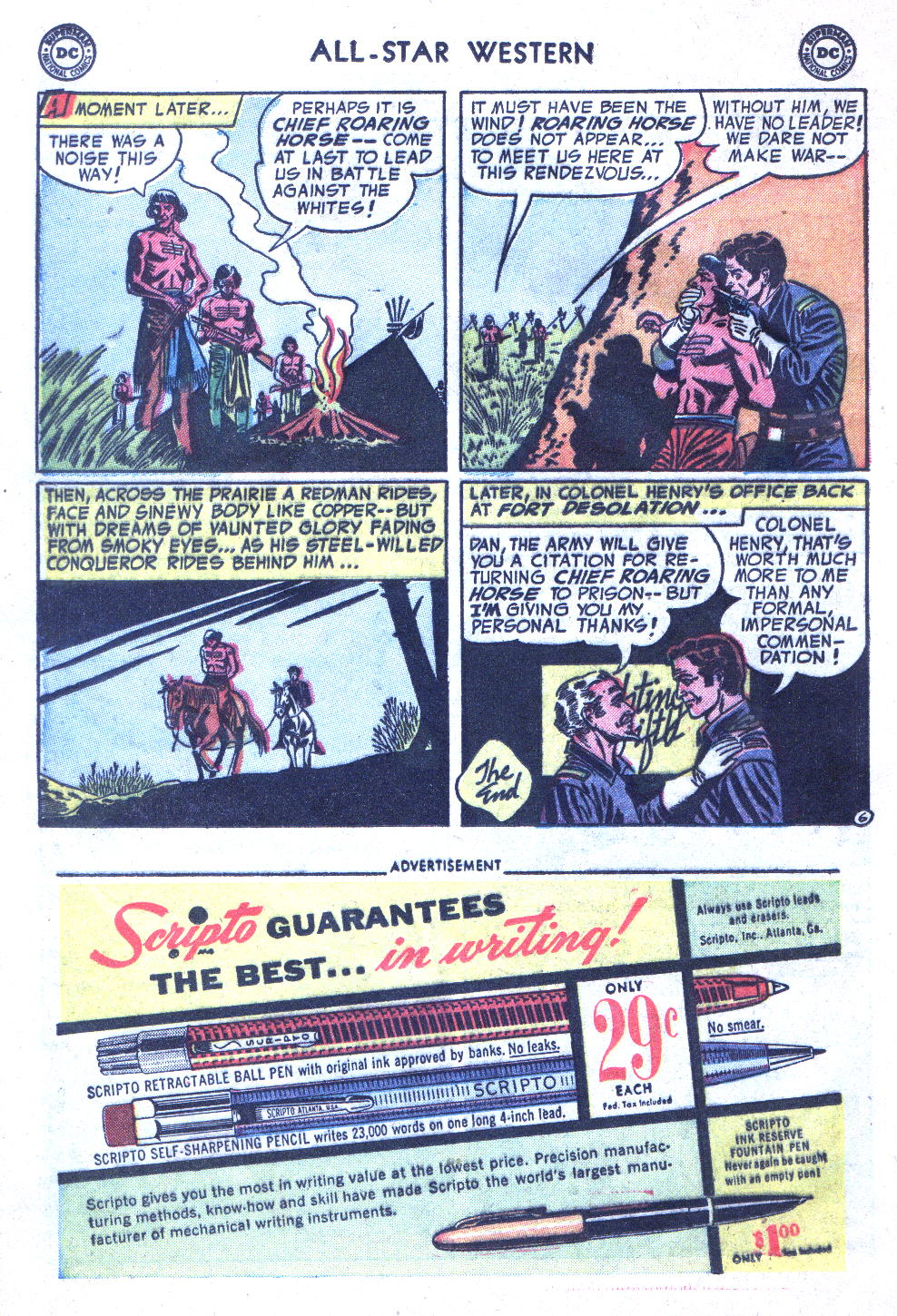Read online All-Star Western (1951) comic -  Issue #77 - 24