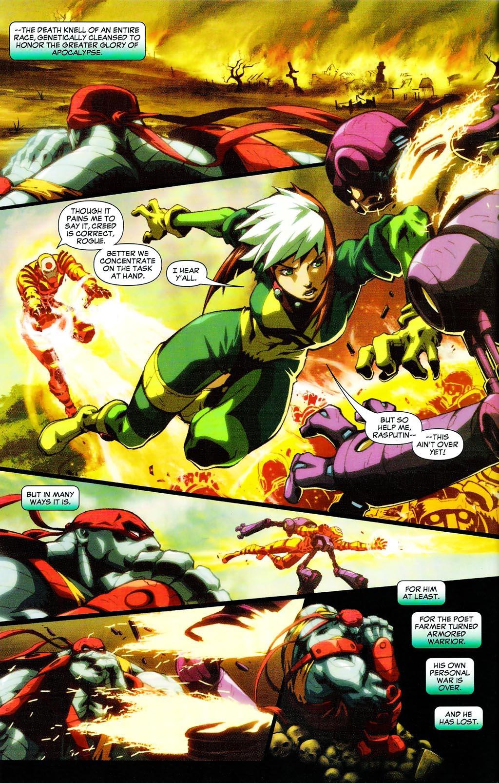 Read online Age of Apocalypse (2005) comic -  Issue #0 - 4