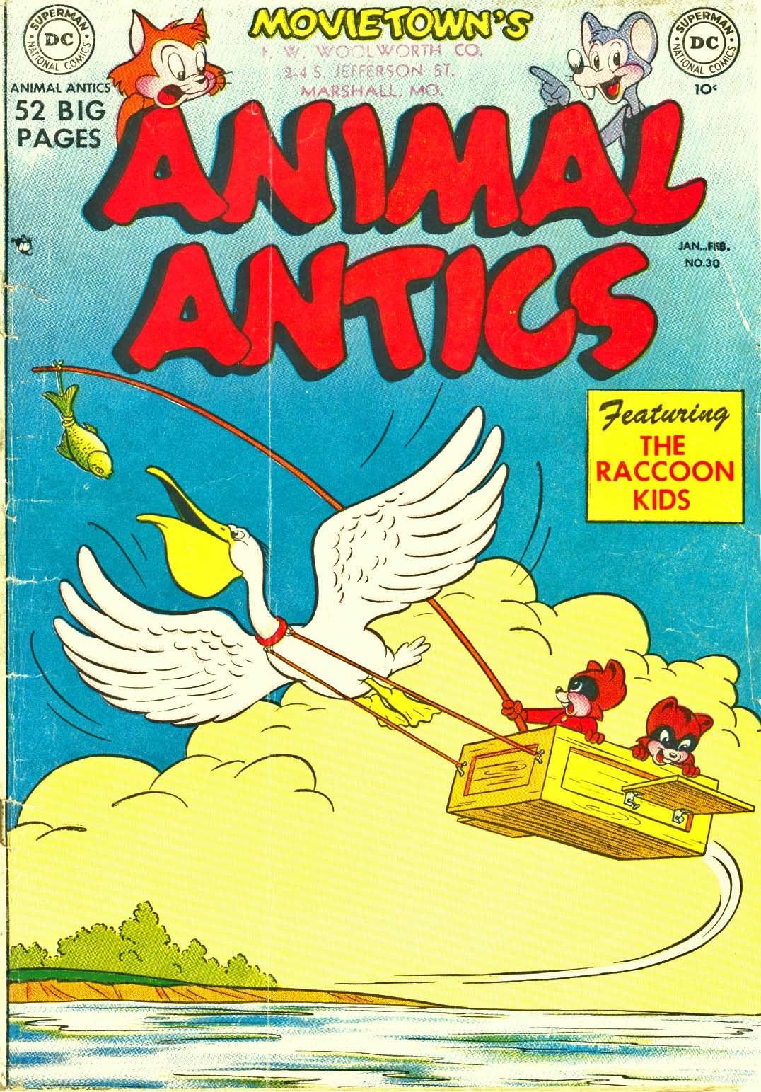 Read online Animal Antics comic -  Issue #30 - 1