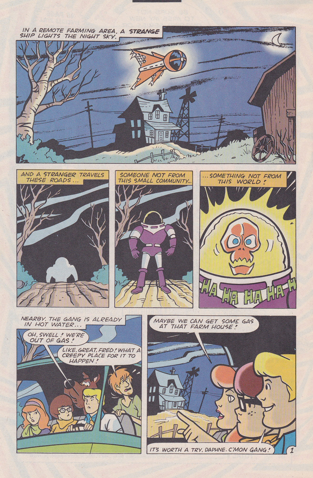 Read online Scooby-Doo (1995) comic -  Issue #20 - 26