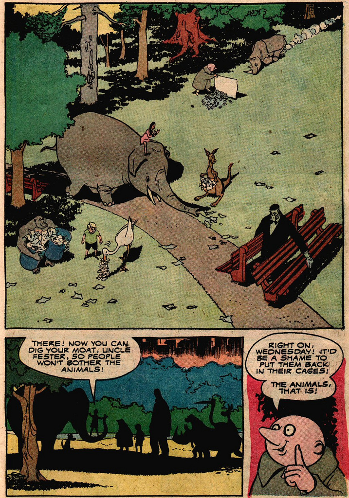 Read online Addams Family comic -  Issue #2 - 17