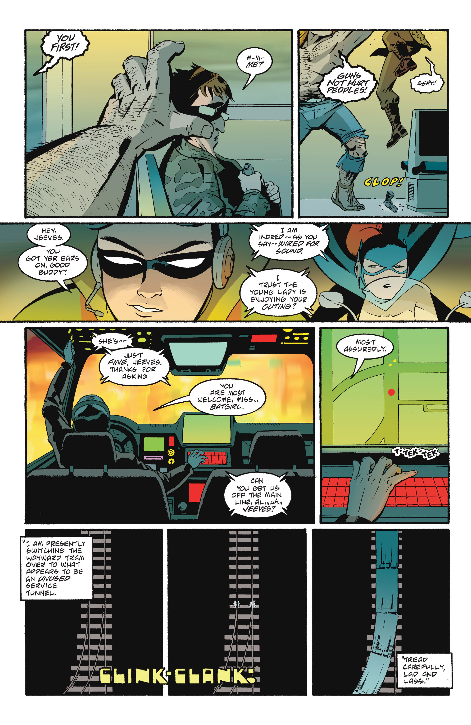 Read online Batgirl/Robin: Year One comic -  Issue # TPB 2 - 164