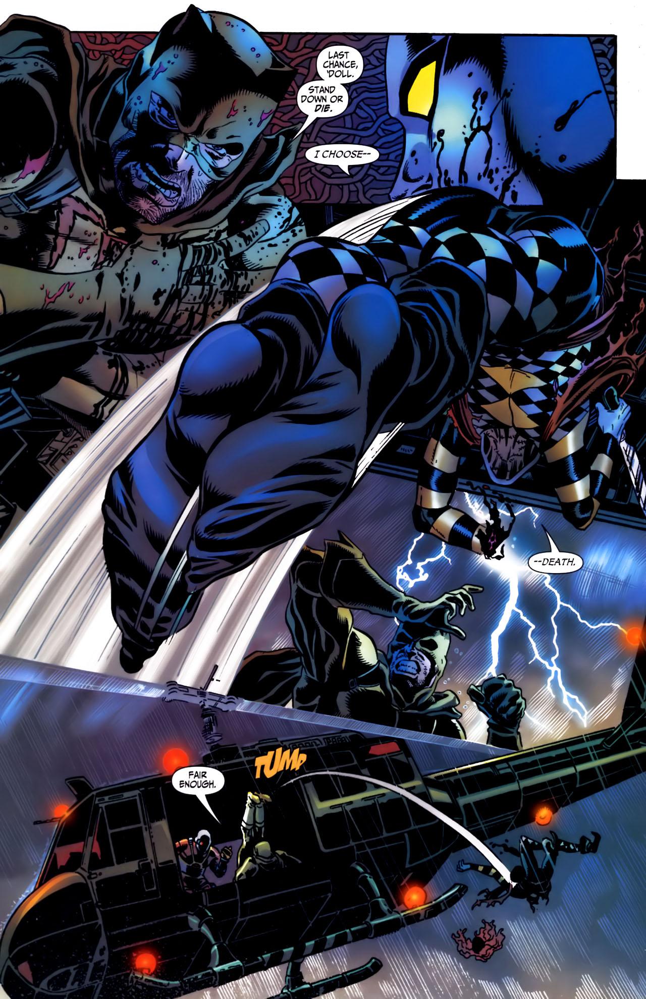 Read online Secret Six (2006) comic -  Issue #3 - 19