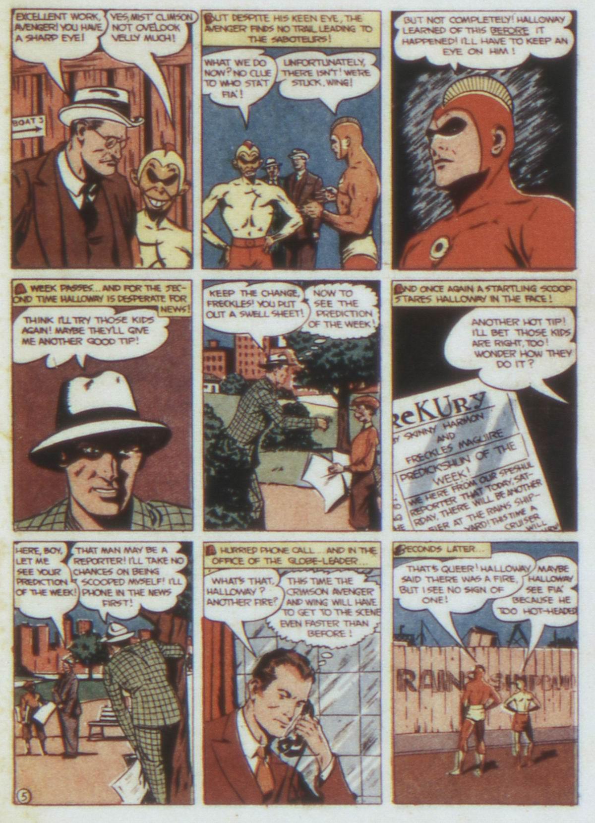 Read online Detective Comics (1937) comic -  Issue #74 - 35