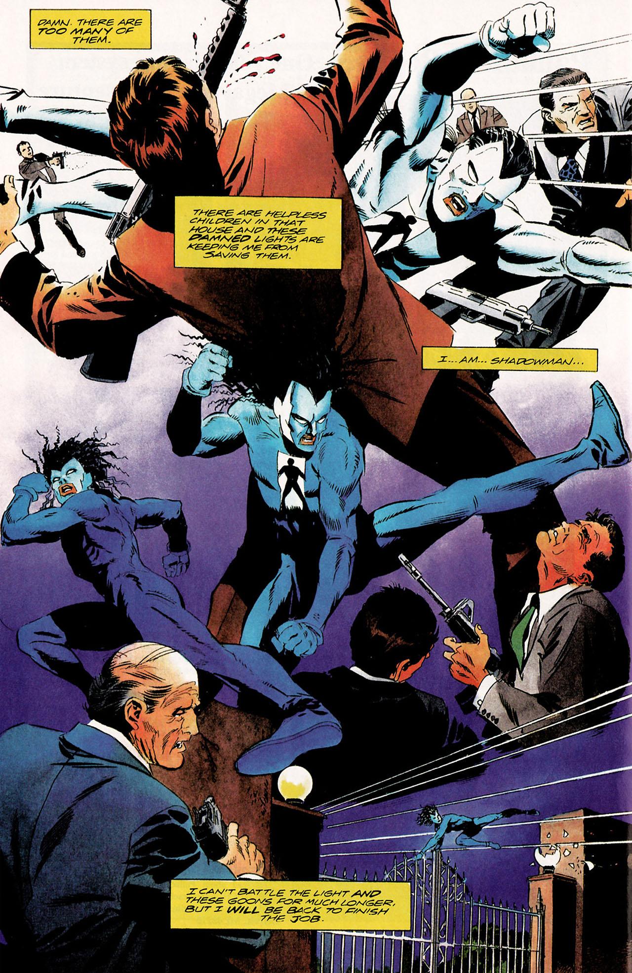 Read online Shadowman (1992) comic -  Issue #9 - 11