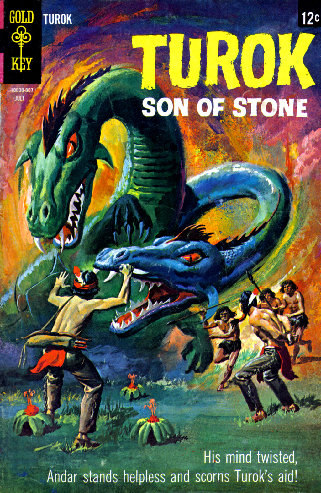 Read online Turok, Son of Stone comic -  Issue #62 - 1