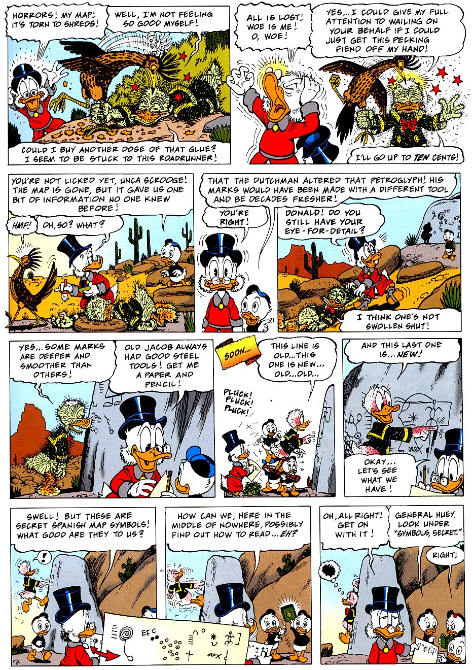 Read online Uncle Scrooge (1953) comic -  Issue #319 - 9
