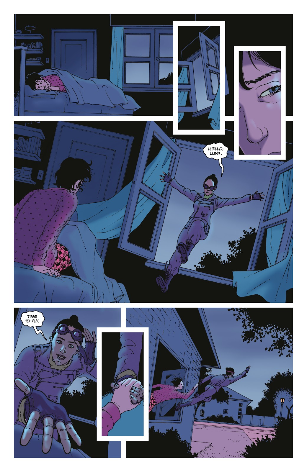 Read online She Could Fly comic -  Issue # _TPB - 103