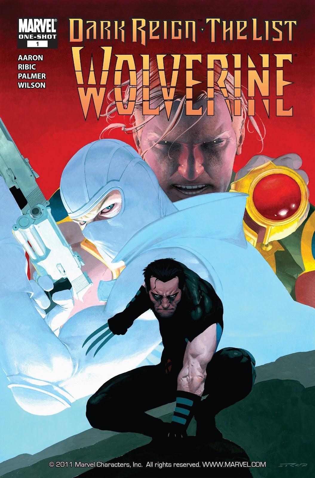 Dark Reign: The List - Wolverine issue Full - Page 1
