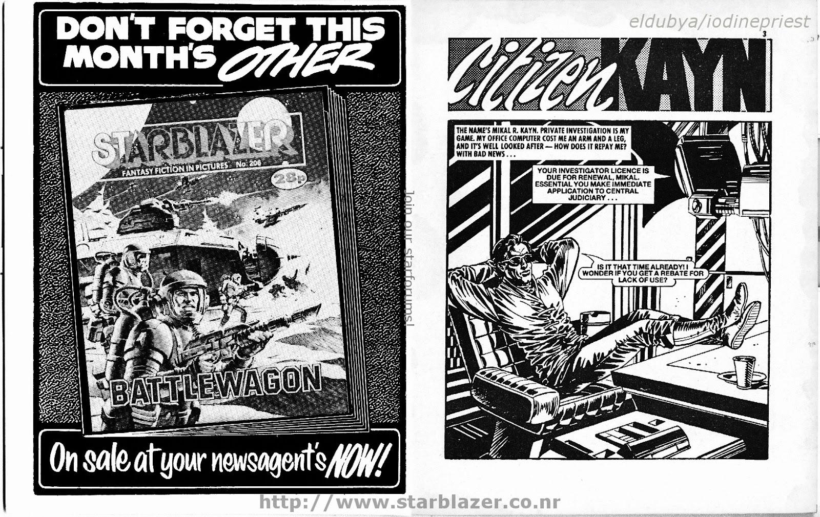 Starblazer issue 207 - Page 3