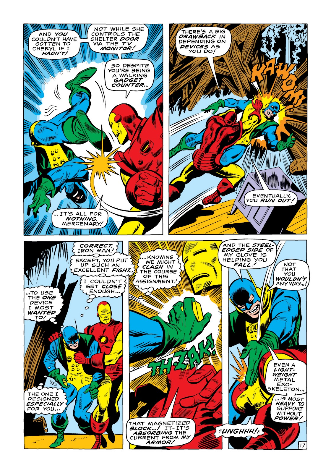 Read online Marvel Masterworks: The Invincible Iron Man comic -  Issue # TPB 6 (Part 3) - 12