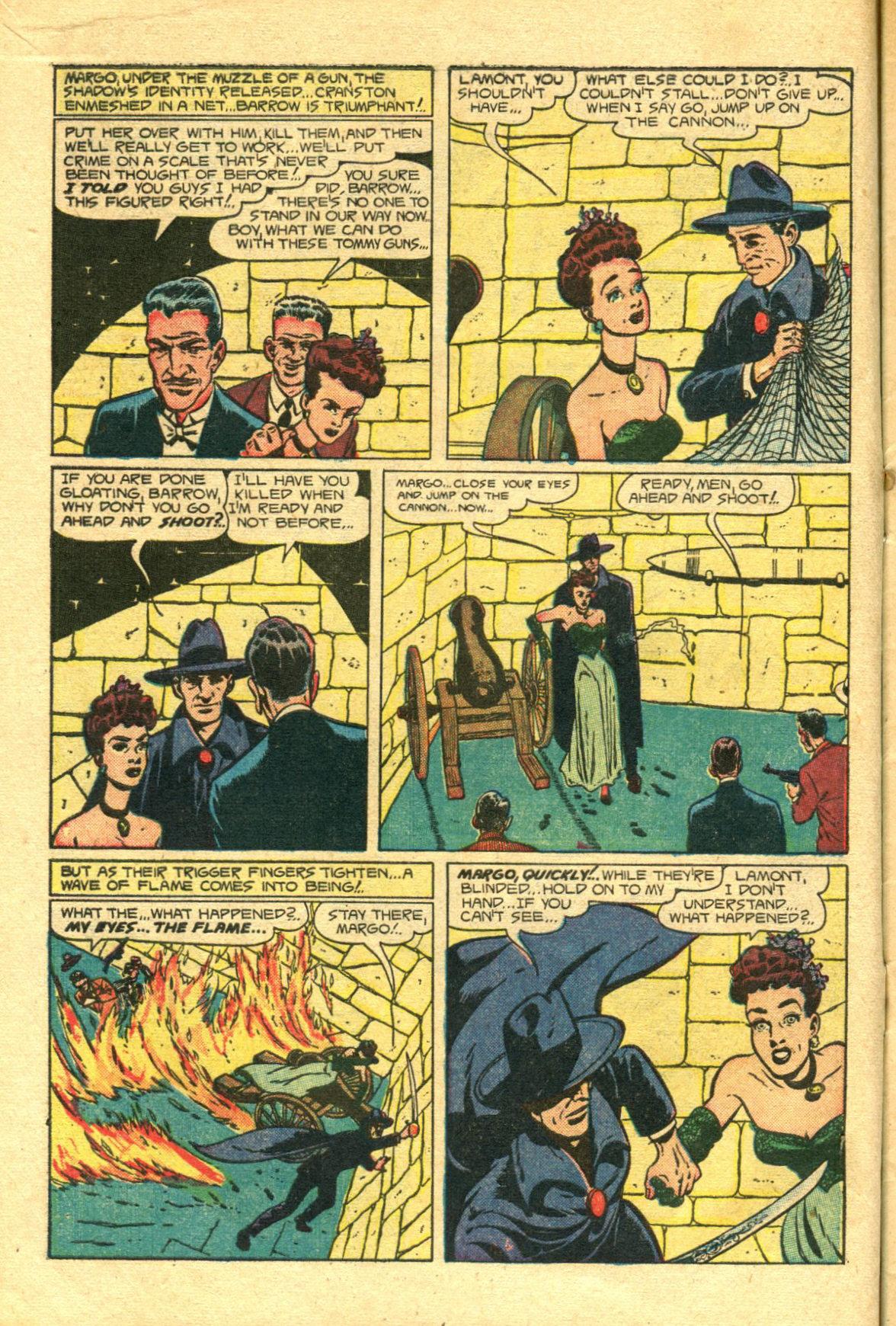 Read online Shadow Comics comic -  Issue #98 - 12