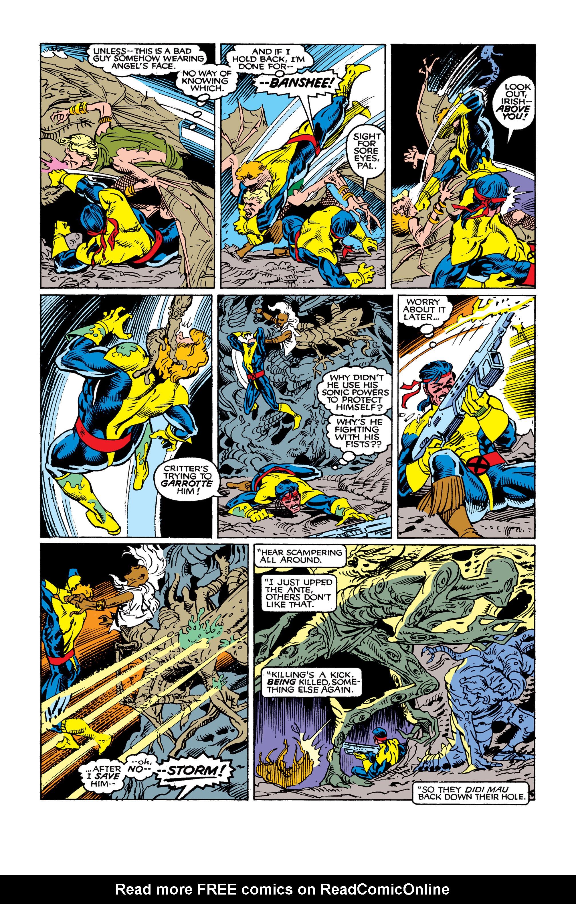 Read online Uncanny X-Men (1963) comic -  Issue #262 - 22