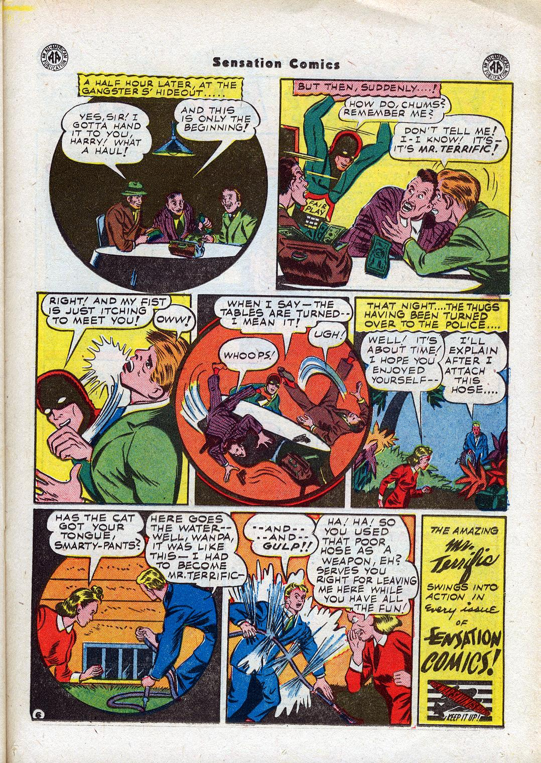 Read online Sensation (Mystery) Comics comic -  Issue #44 - 33