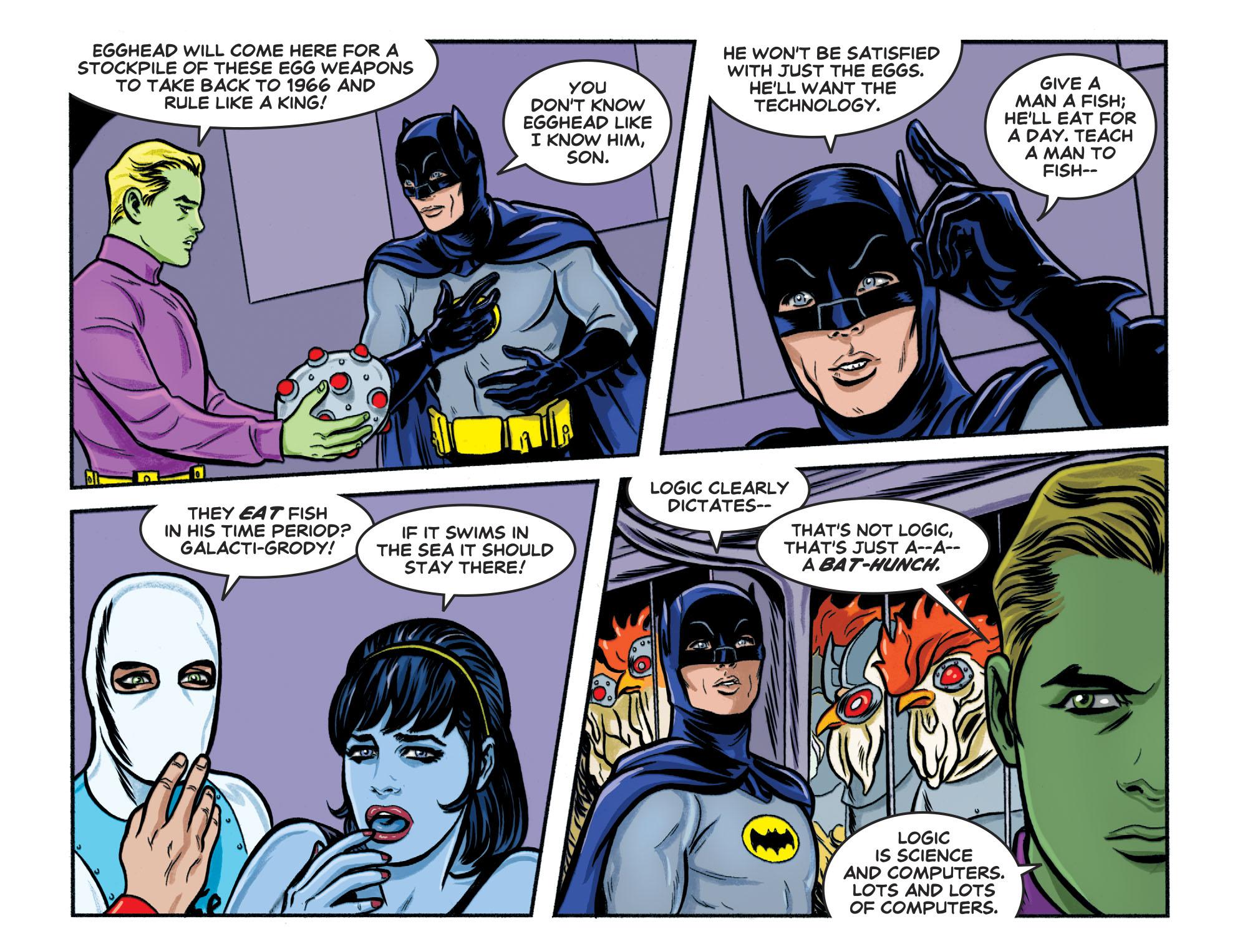 Read online Batman '66 Meets the Legion of Super-Heroes comic -  Issue #1 - 19