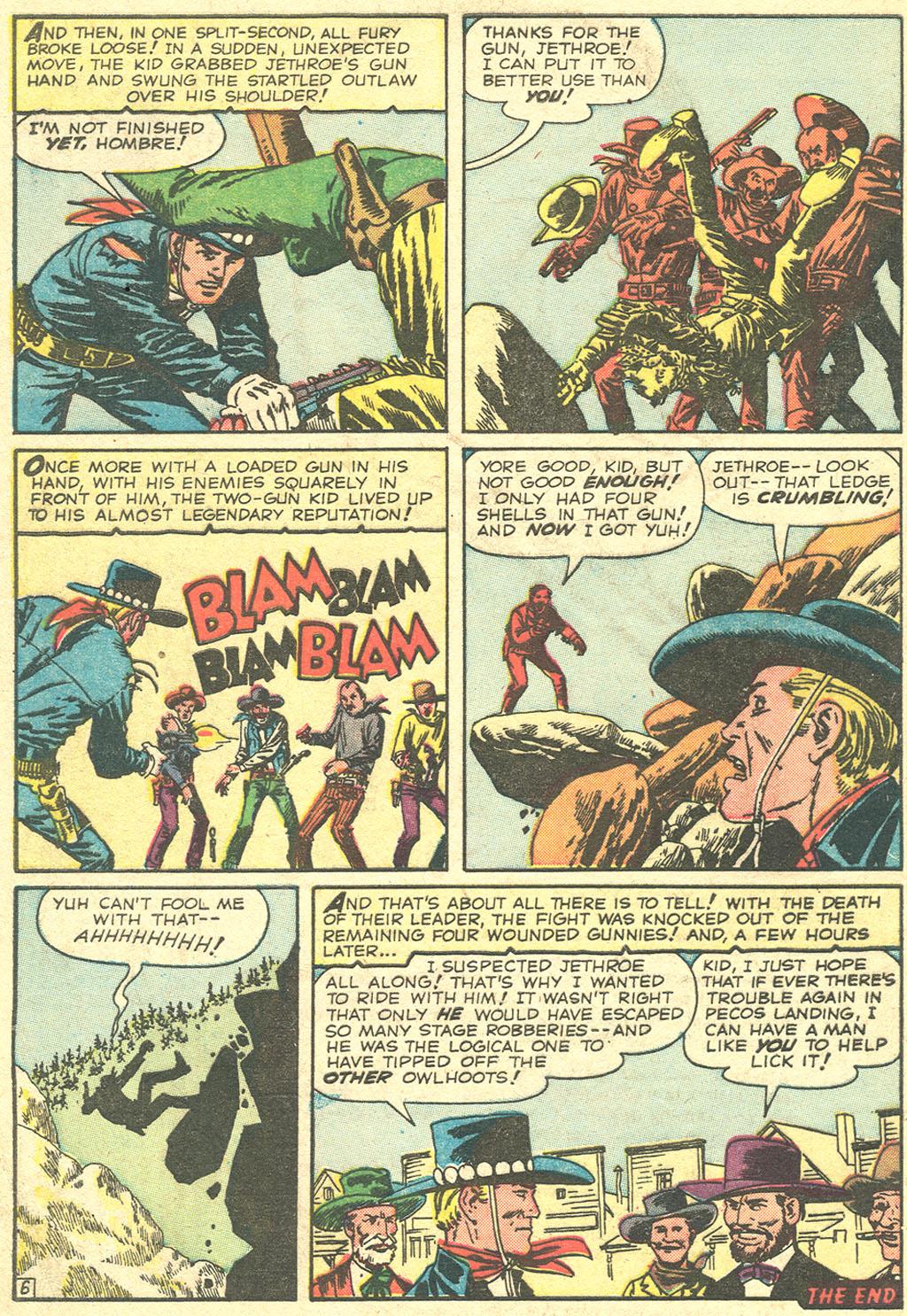 Read online Two-Gun Kid comic -  Issue #51 - 8