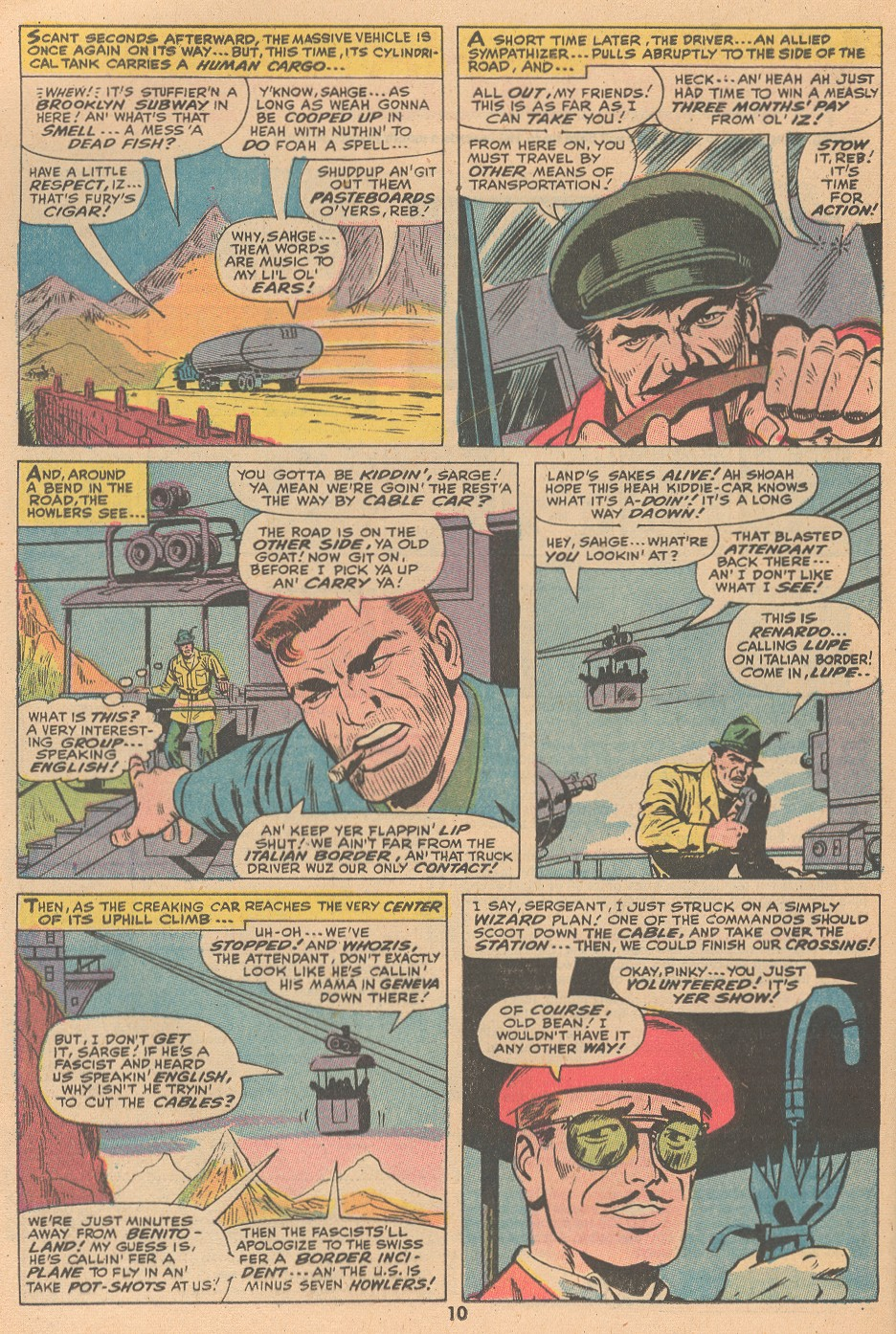 Read online Sgt. Fury comic -  Issue #105 - 12
