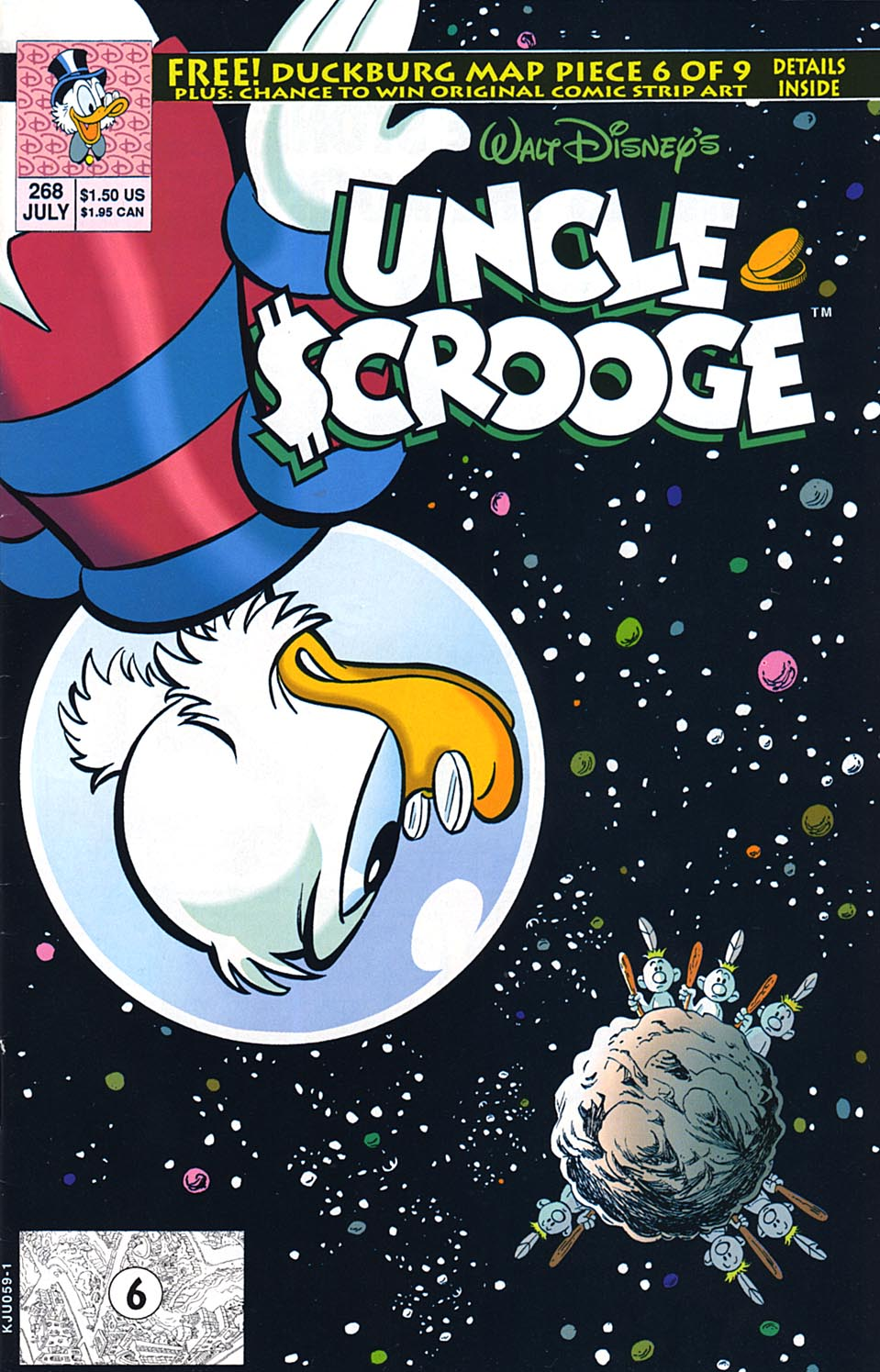 Read online Uncle Scrooge (1953) comic -  Issue #268 - 1