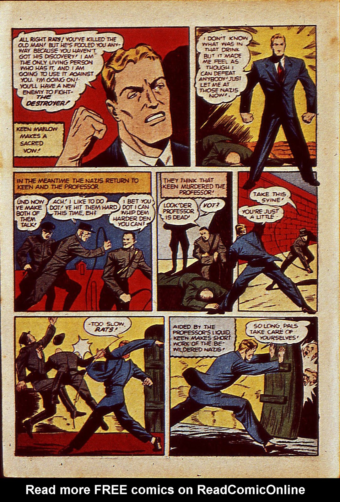 Mystic Comics (1940) issue 6 - Page 11