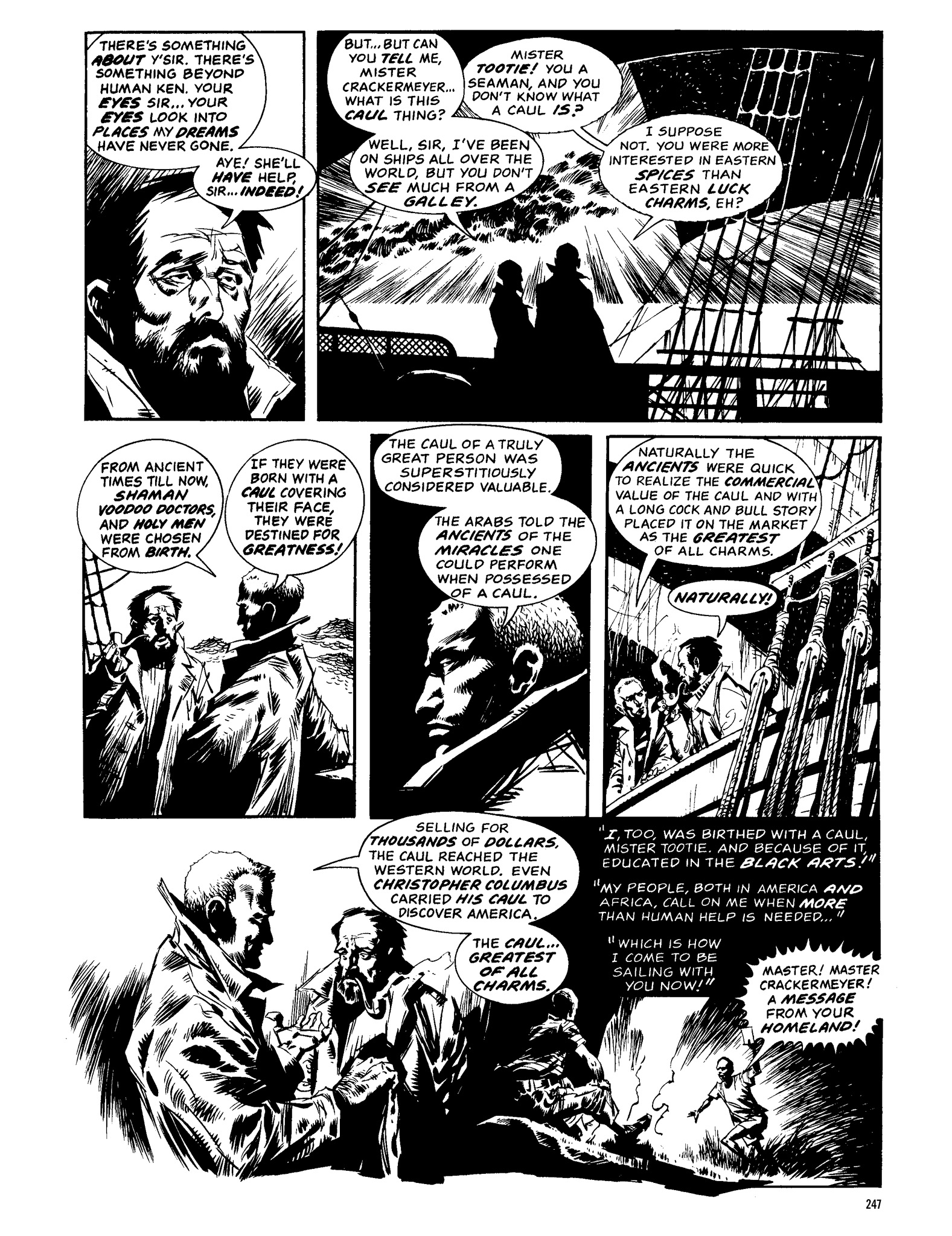 Read online Eerie Archives comic -  Issue # TPB 13 - 248