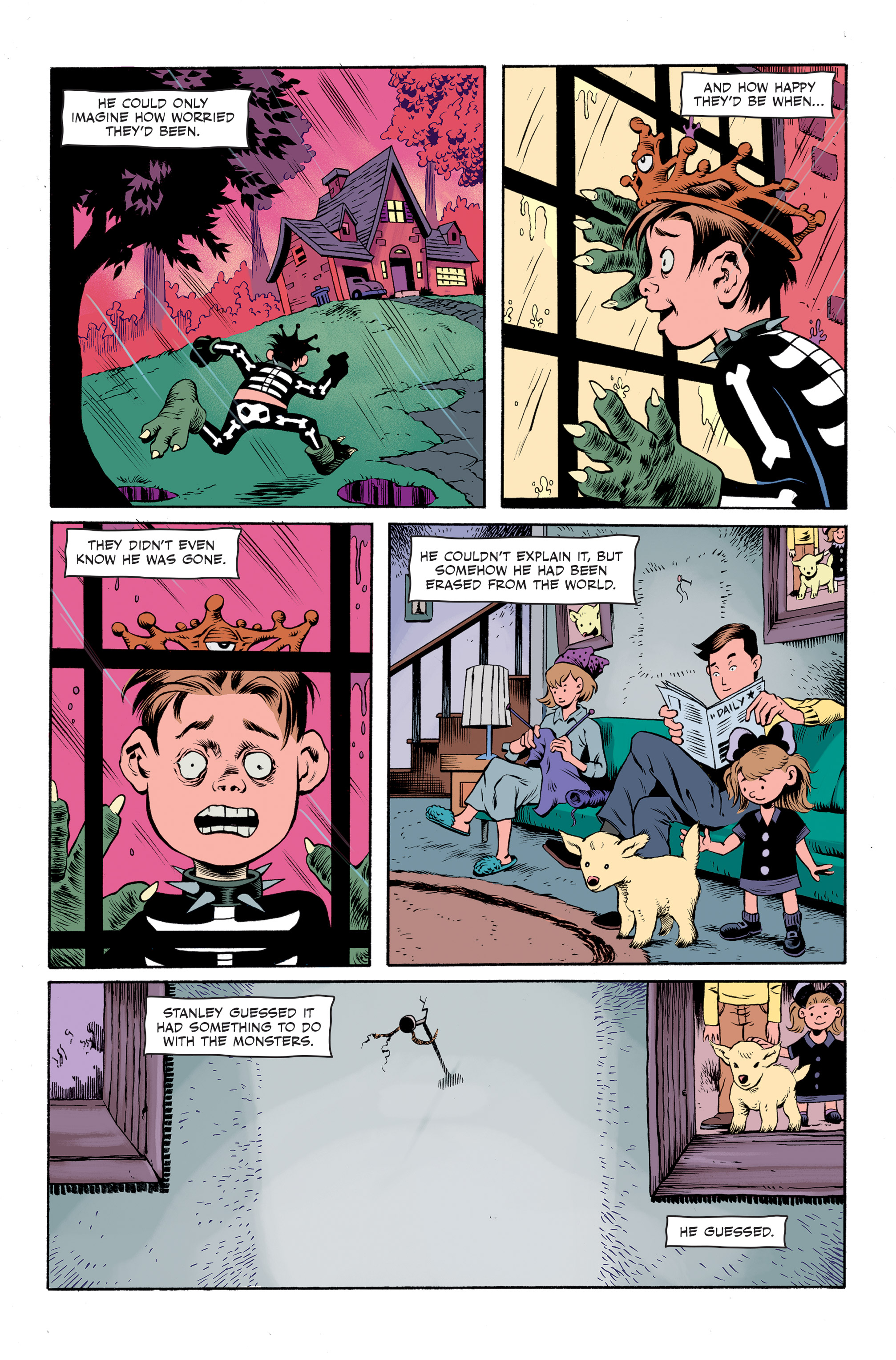 Read online Spook House comic -  Issue #5 - 23