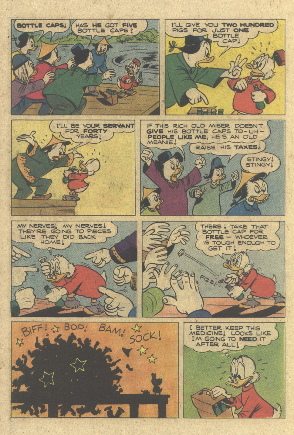 Read online Uncle Scrooge (1953) comic -  Issue #183 - 22