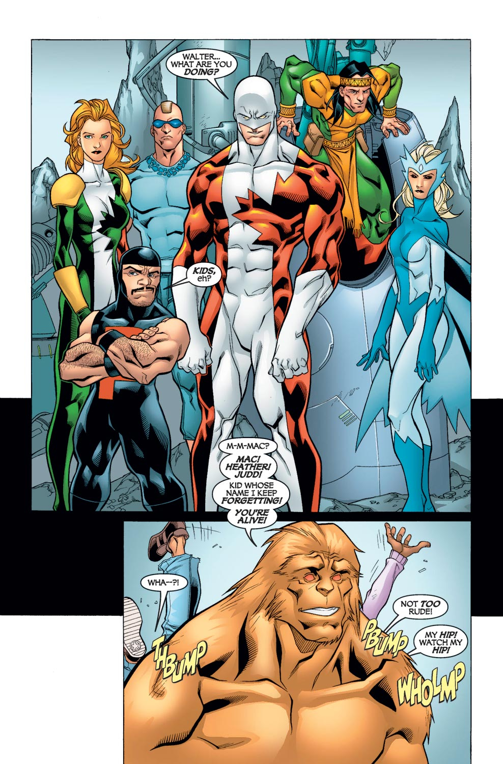 Read online Alpha Flight (2004) comic -  Issue #6 - 15