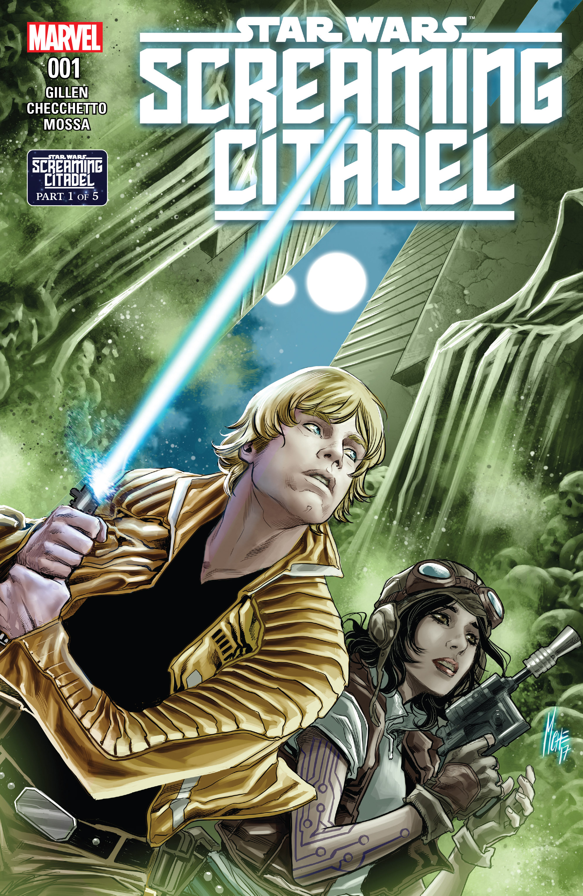 Read online Star Wars: The Screaming Citadel comic -  Issue # Full - 1