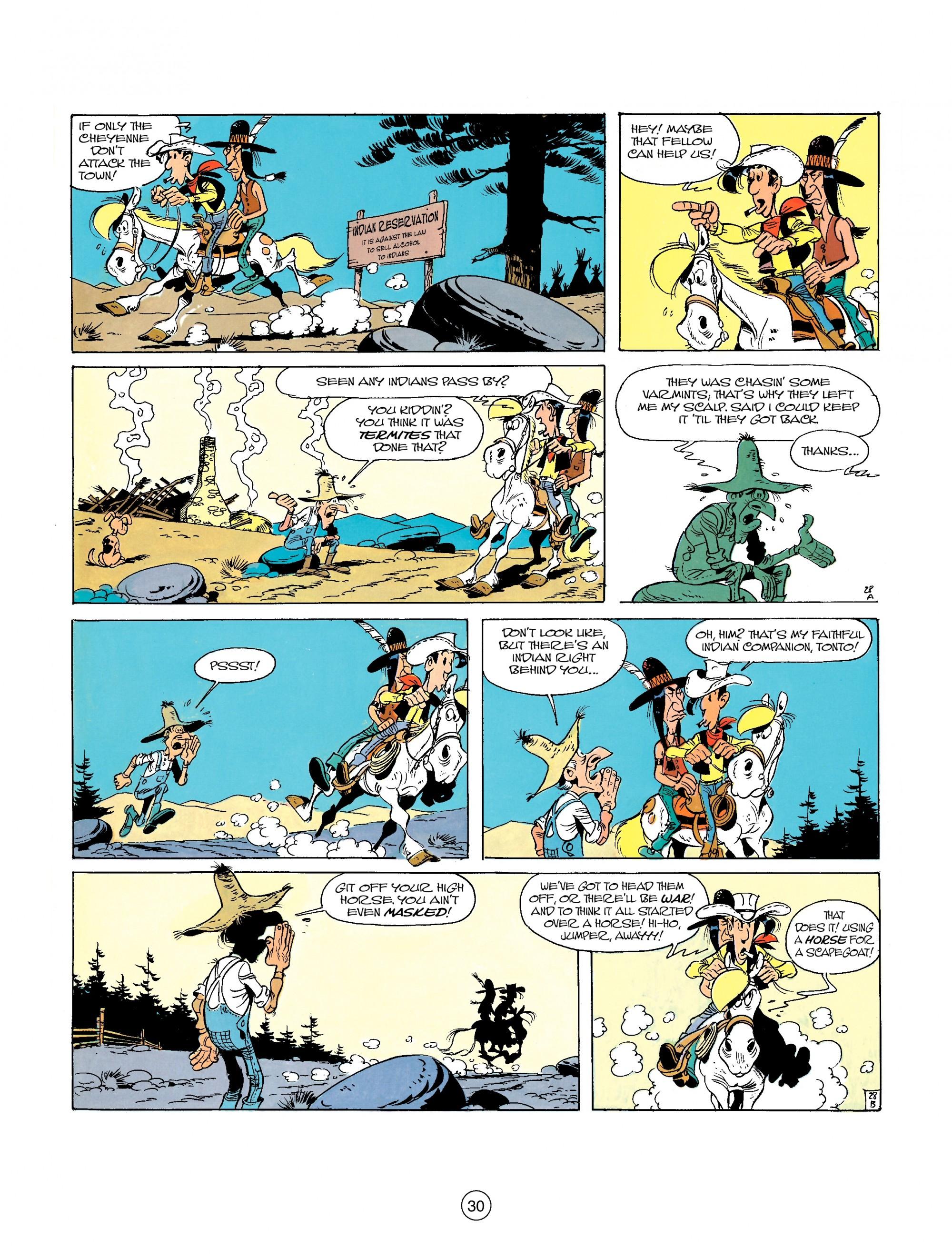 Read online A Lucky Luke Adventure comic -  Issue #26 - 30