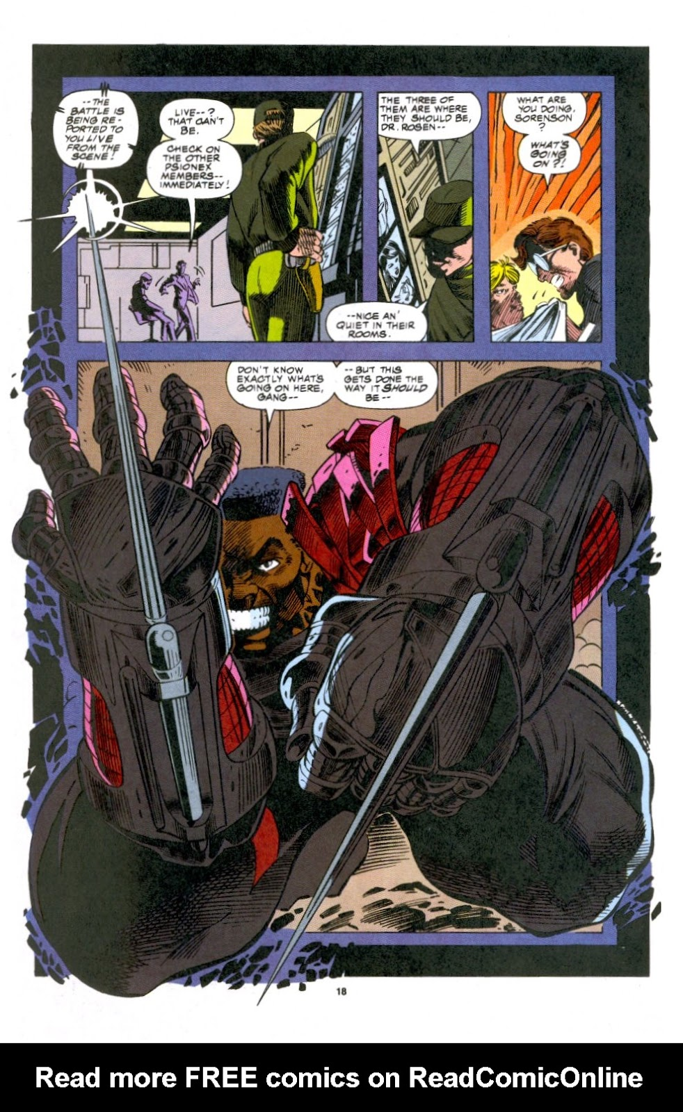 The New Warriors Issue #53 #57 - English 13