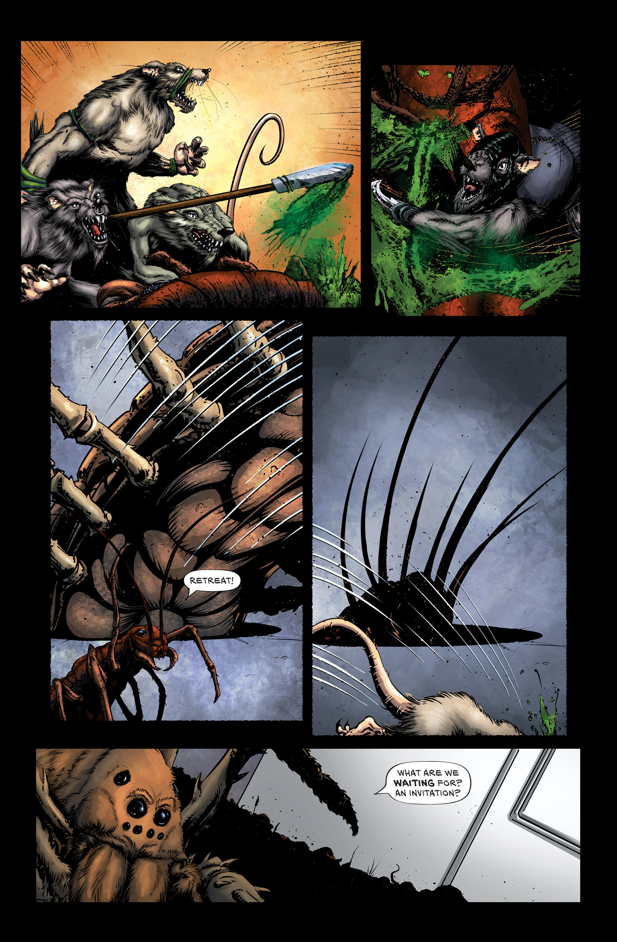 Read online Wretched Things comic -  Issue #3 - 4