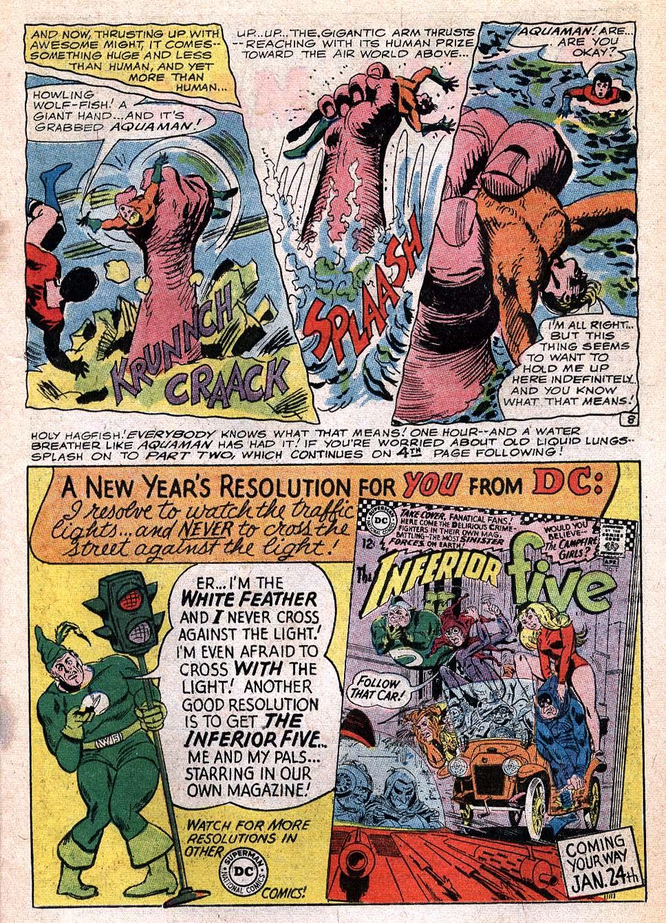 Read online Aquaman (1962) comic -  Issue #32 - 11