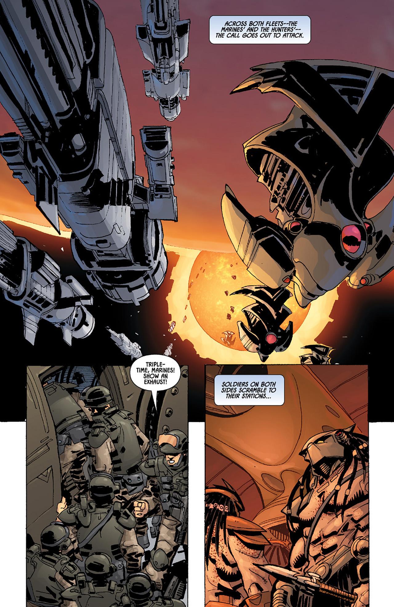 Read online Aliens vs. Predator: Three World War comic -  Issue #4 - 3