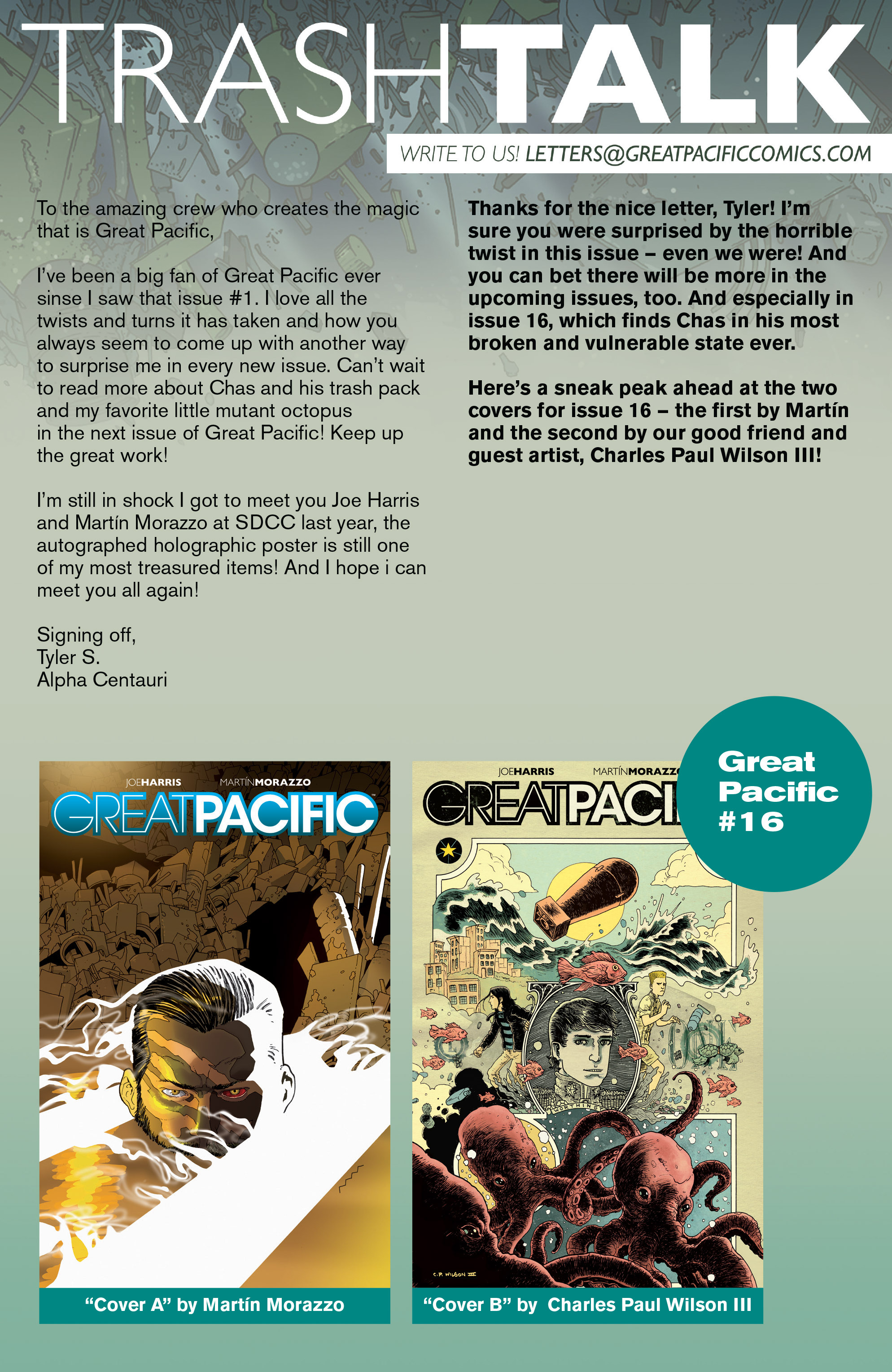 Read online Great Pacific comic -  Issue #15 - 24