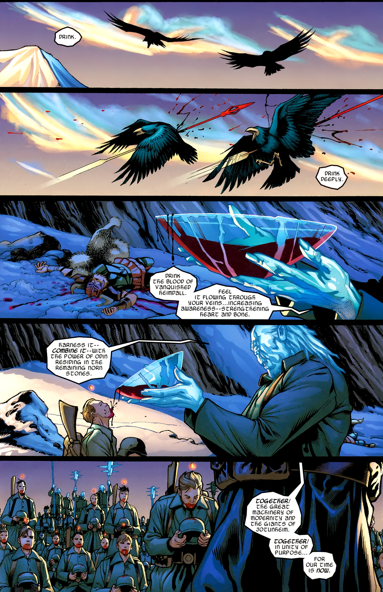 Read online Ultimate Thor comic -  Issue #3 - 3